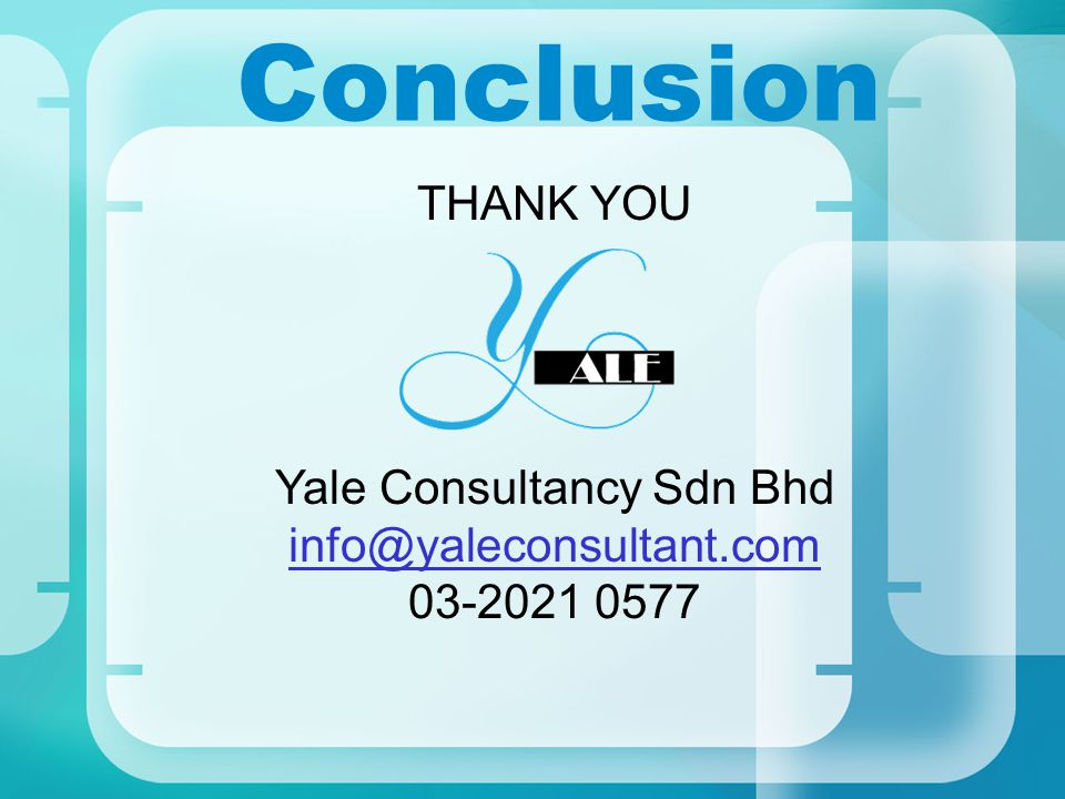 Yale Consultancy Sdn Bhd