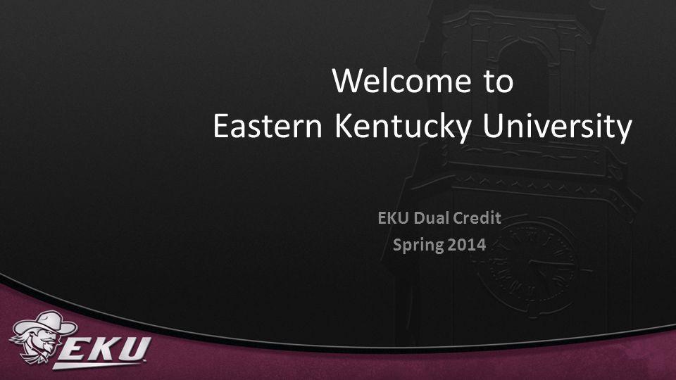 Welcome to Eastern Kentucky University