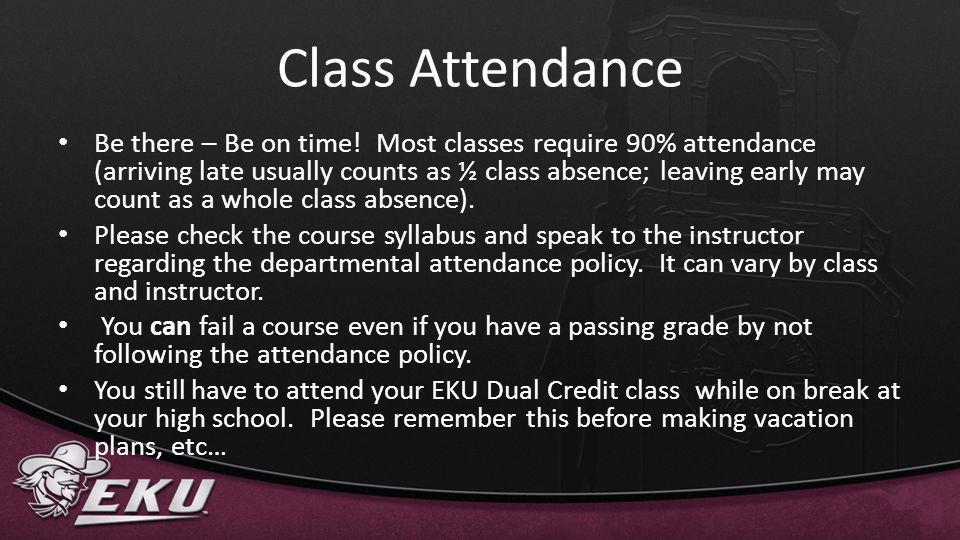 Class Attendance