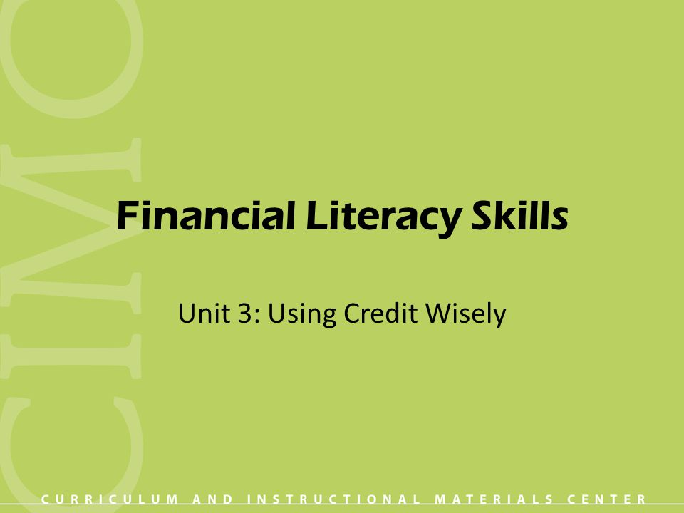 essay about financial literacy skills