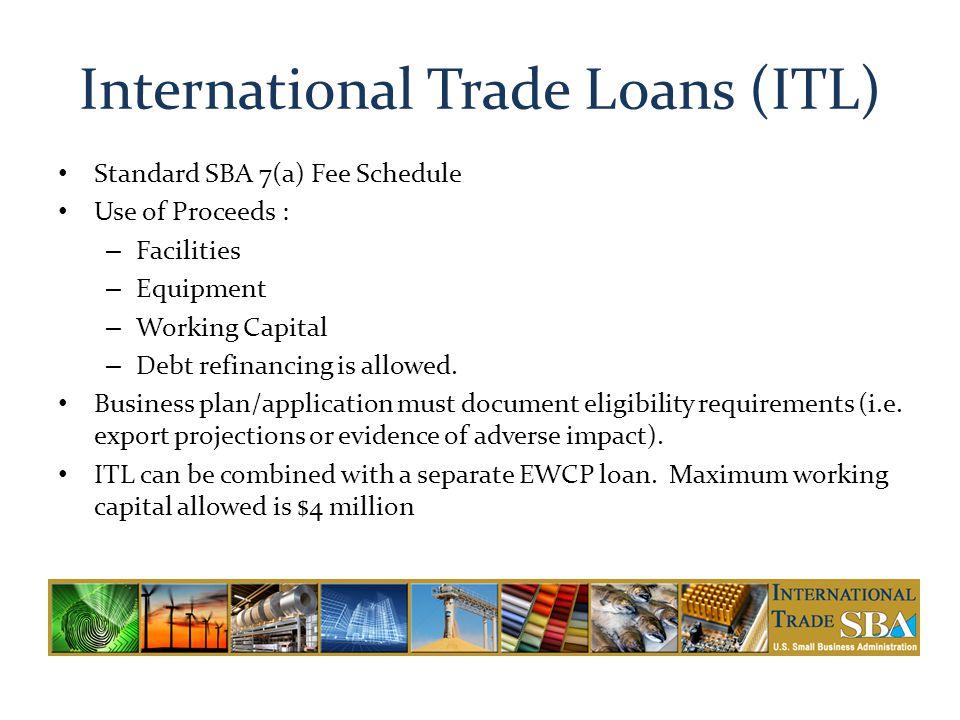 International Trade Loans (ITL)