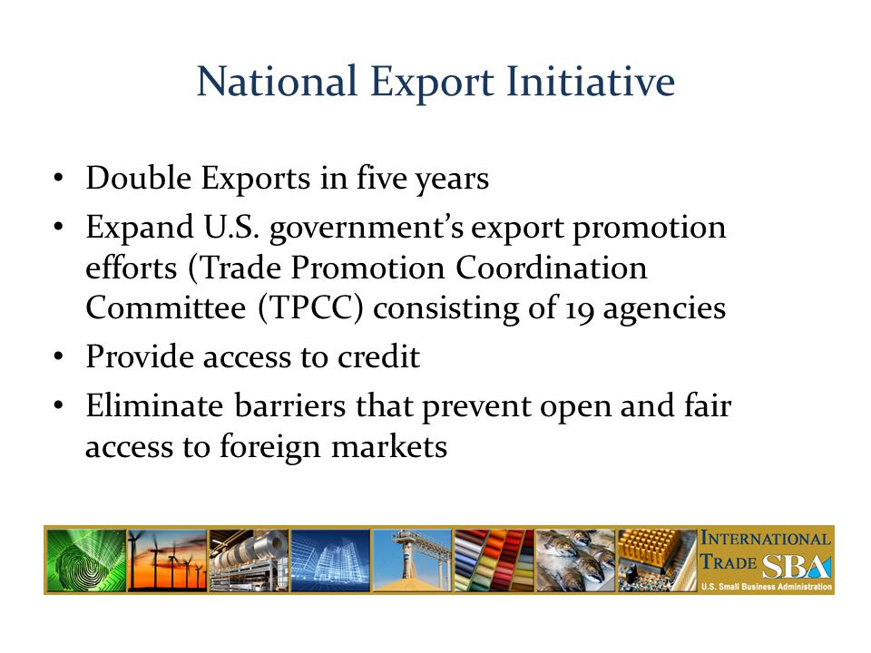 National Export Initiative