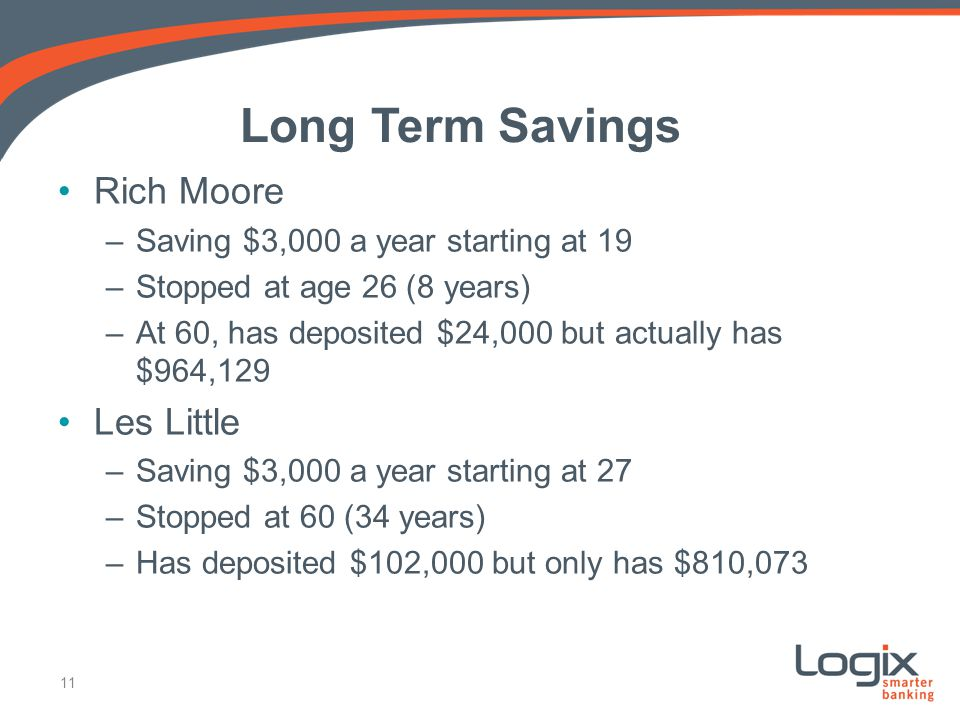 Long Term Savings Rich Moore Les Little
