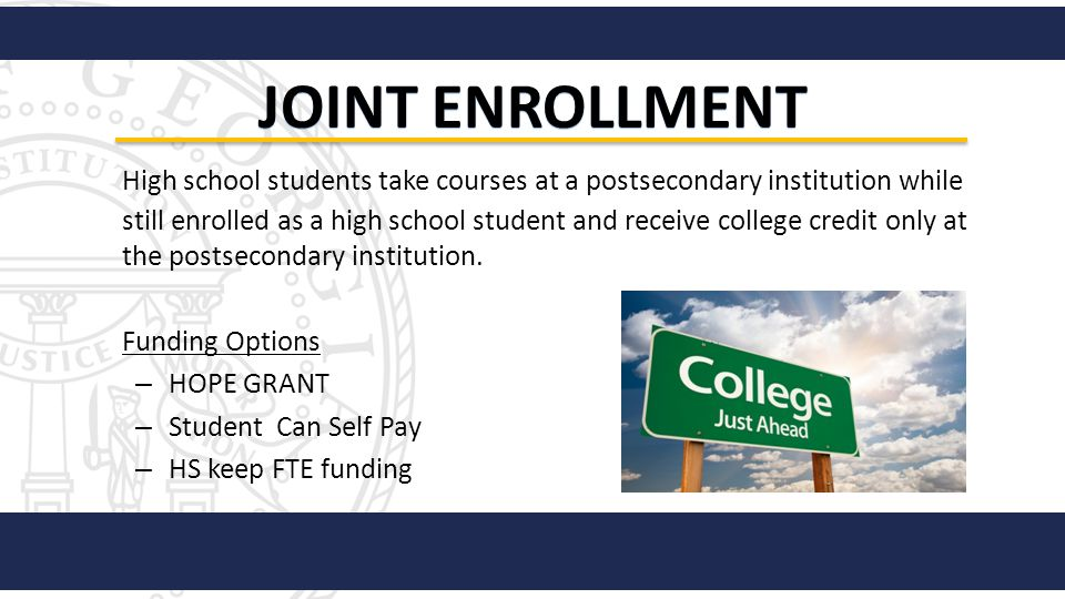 Joint Enrollment