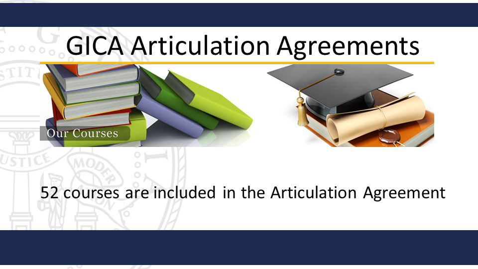GICA Articulation Agreements