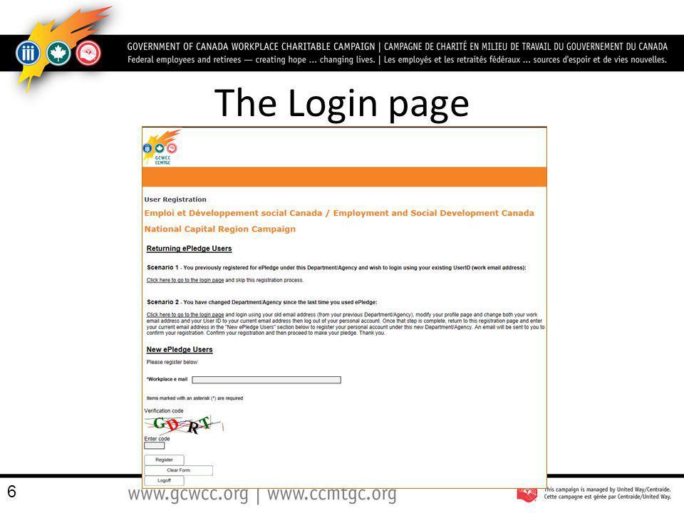 charité email login