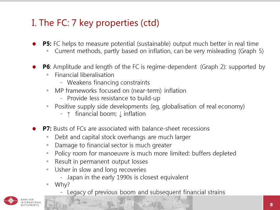 I. The FC: 7 key properties (ctd)