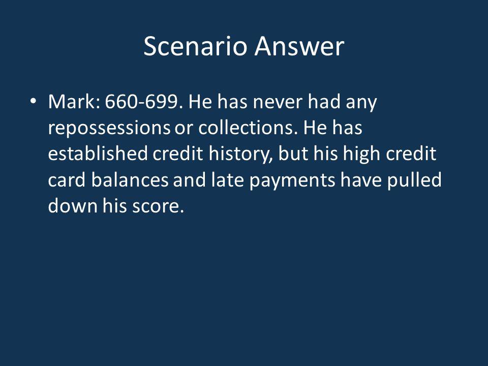 Scenario Answer