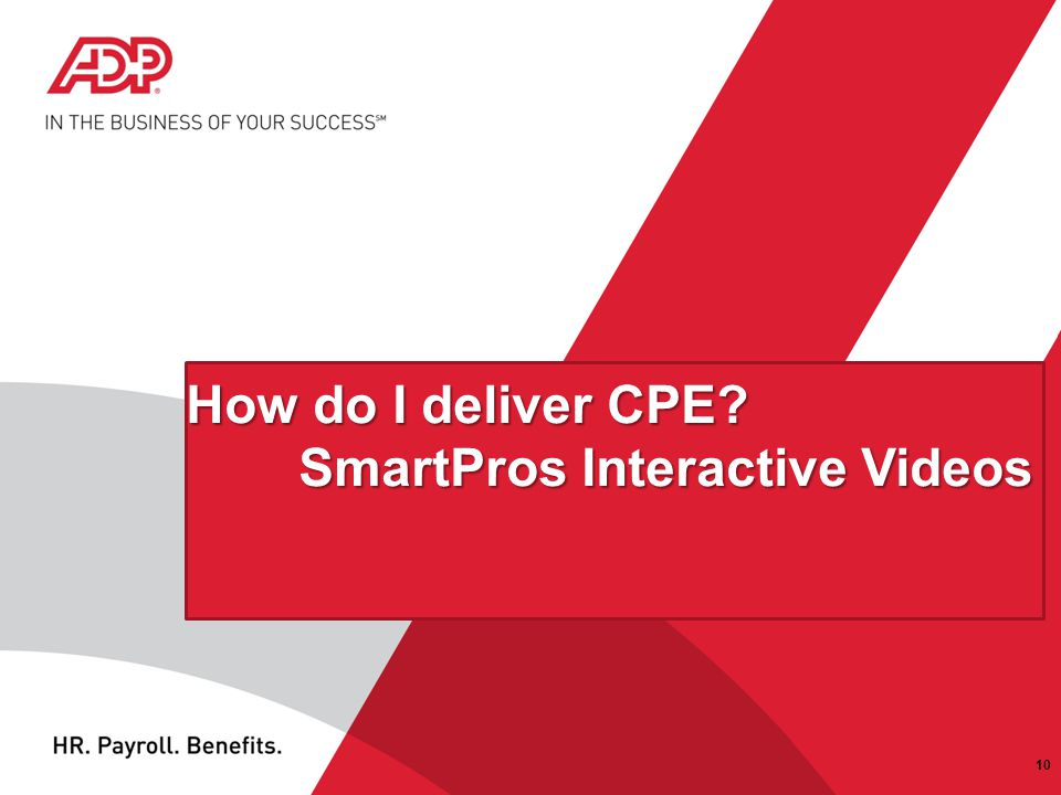 How do I deliver CPE SmartPros Interactive Videos