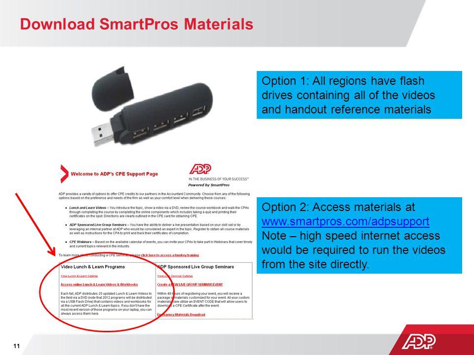 Download SmartPros Materials