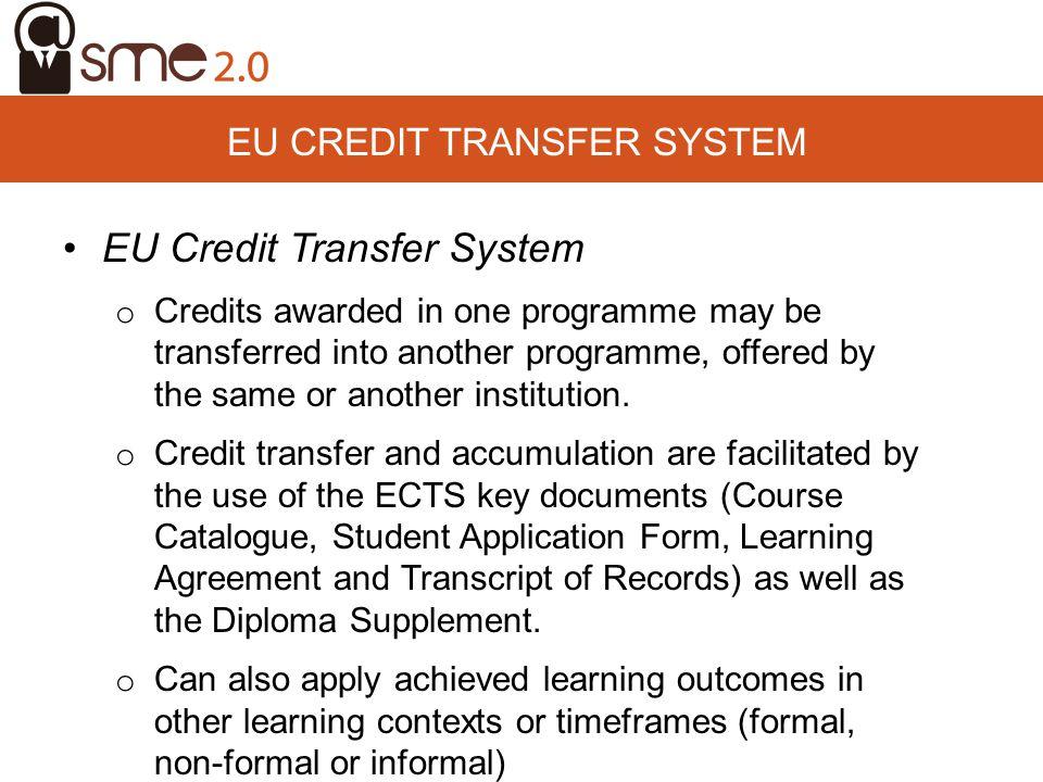 EU Credit Transfer System