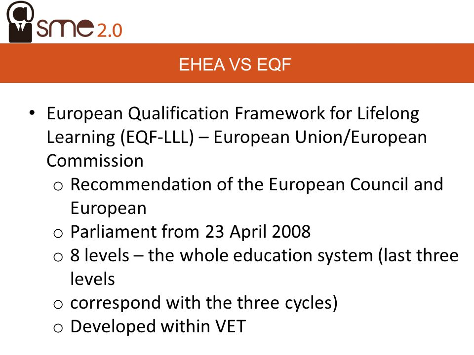 Recommendation of the European Council and European