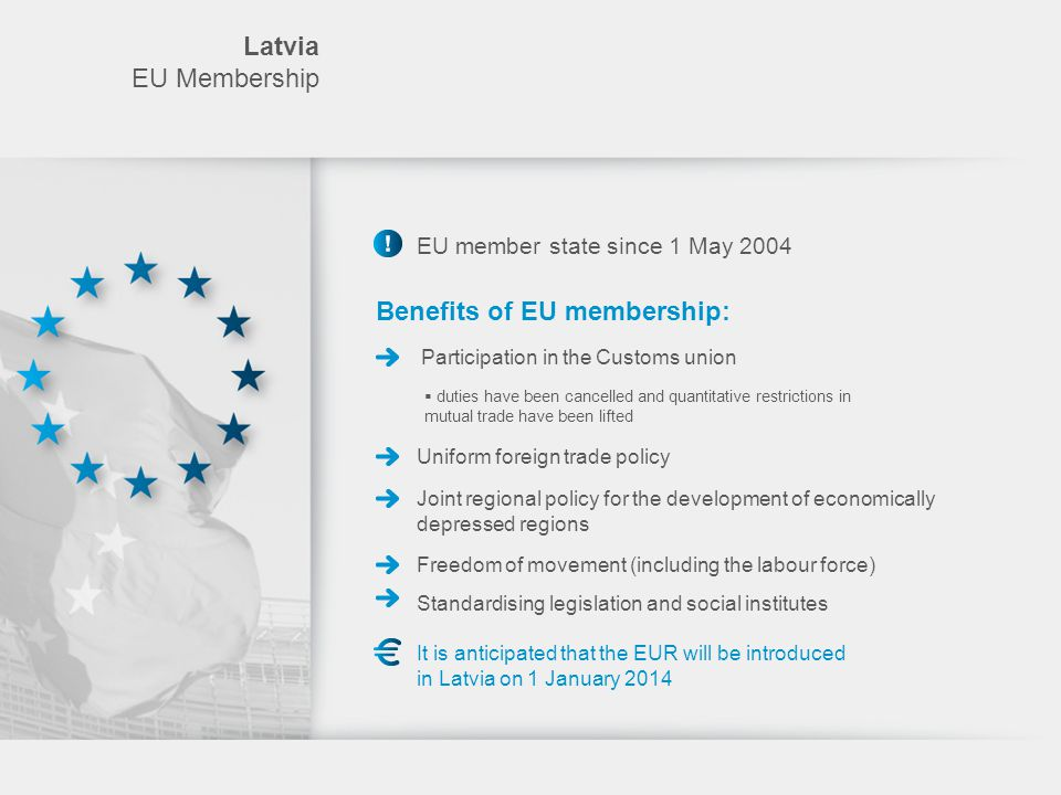 Benefits of EU membership: