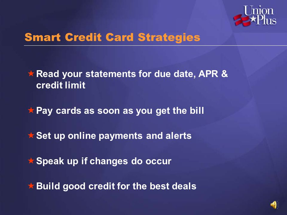 Smart Credit Card Strategies