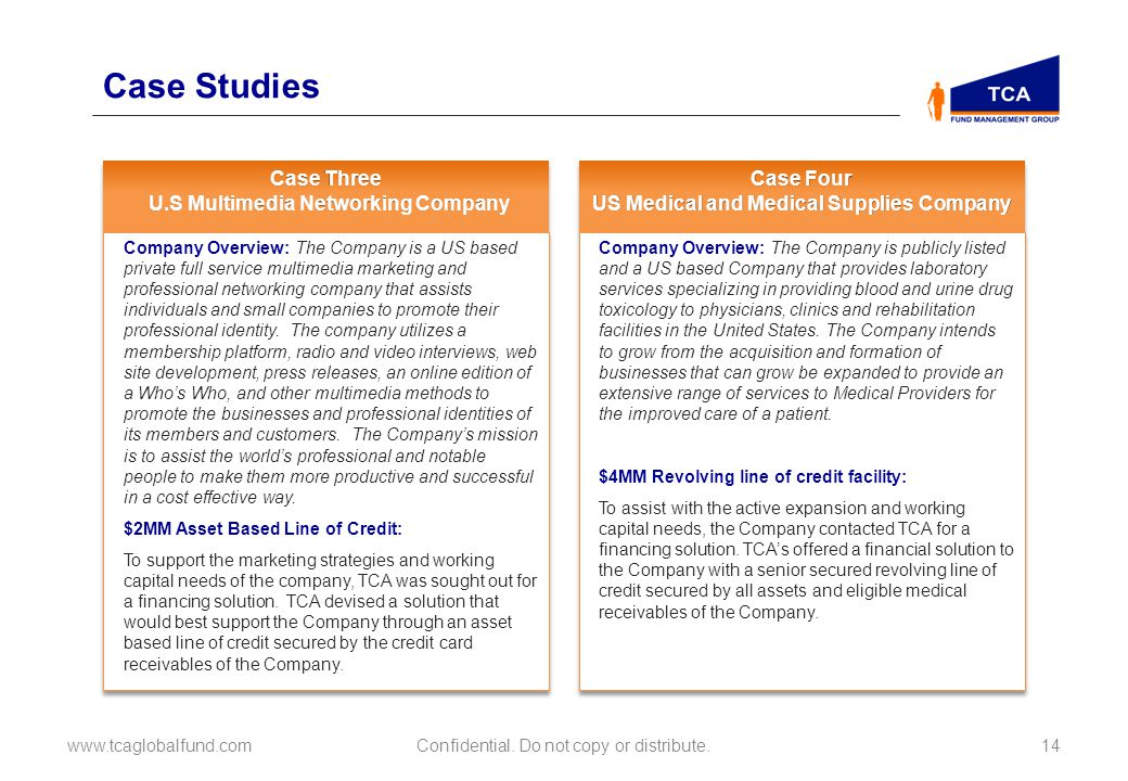 Case Studies Case Three U.S Multimedia Networking Company Case Four