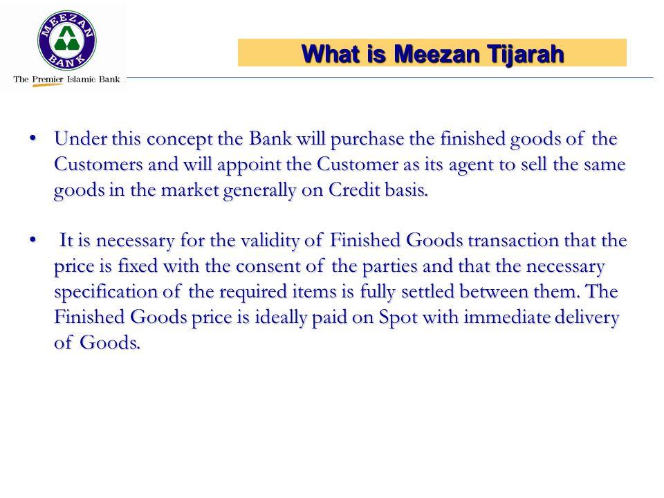 What is Meezan Tijarah