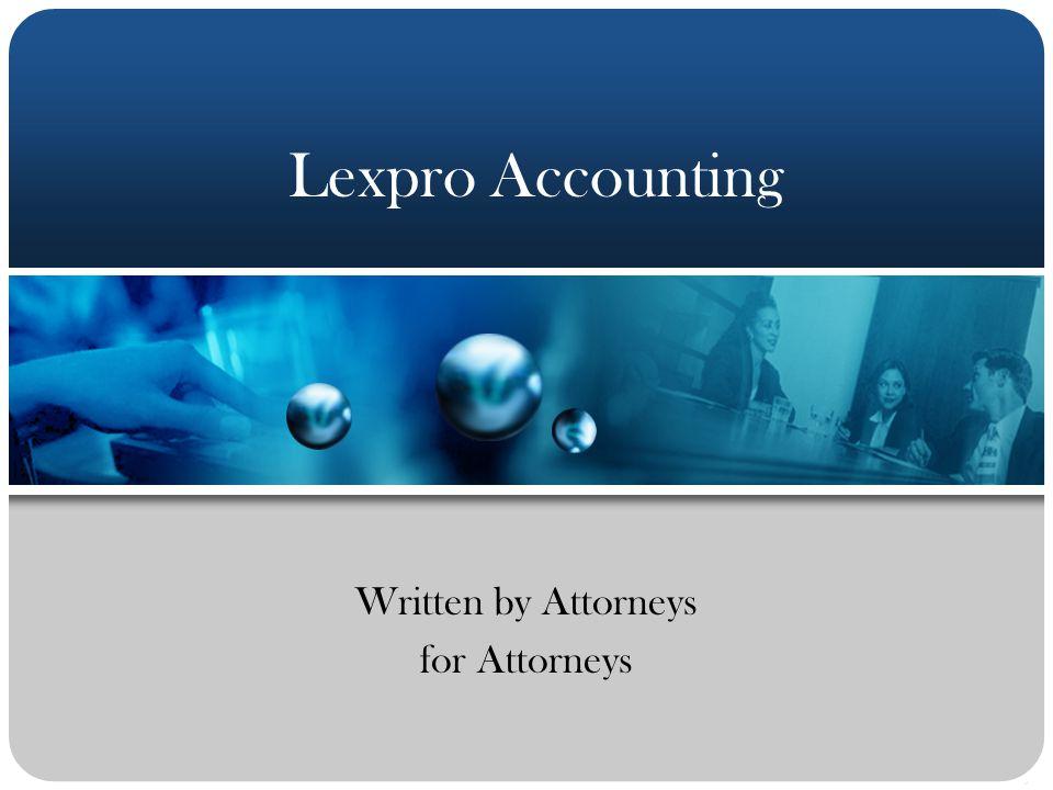 Written by Attorneys for Attorneys