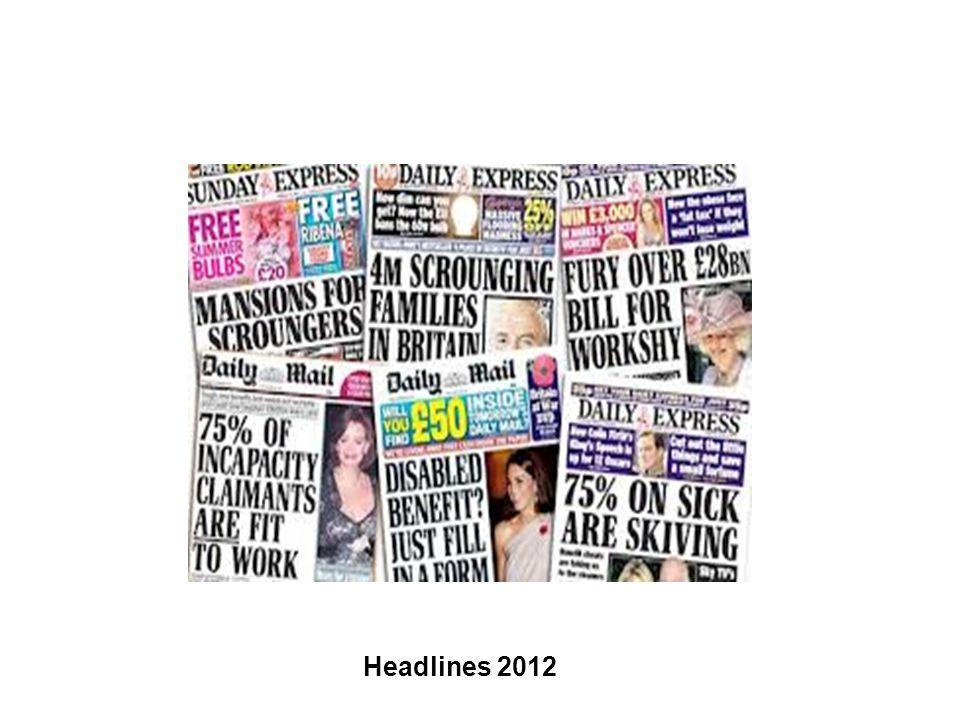 Headlines 2012