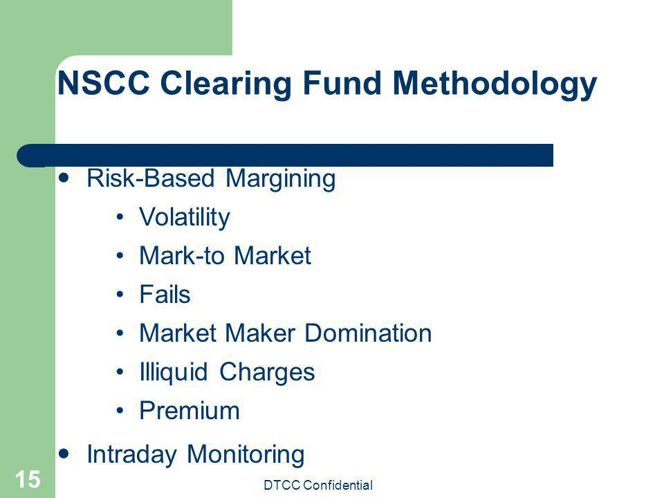 NSCC Clearing Fund Methodology