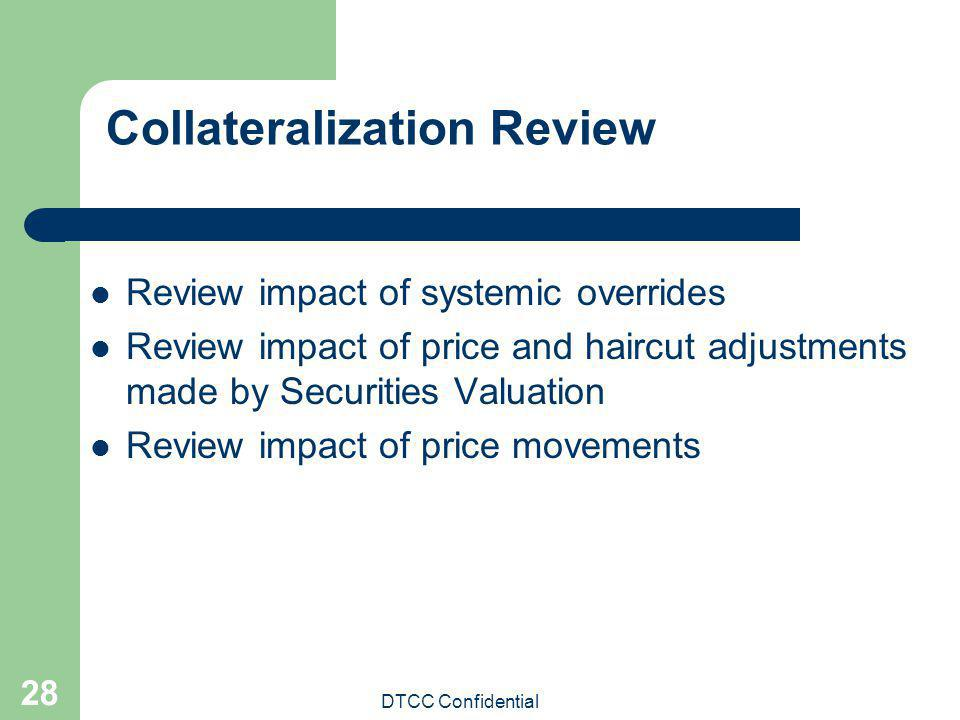 Collateralization Review