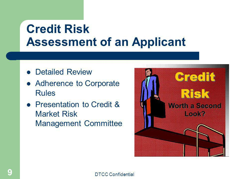 Credit Risk Assessment of an Applicant