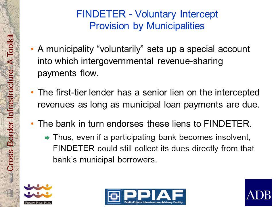 FINDETER - Voluntary Intercept Provision by Municipalities