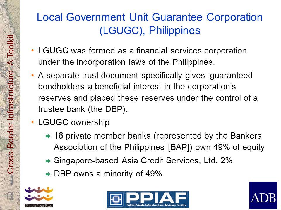 Local Government Unit Guarantee Corporation (LGUGC), Philippines