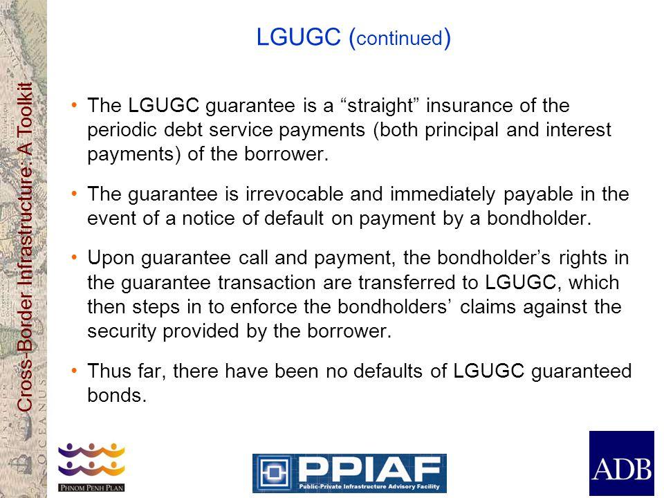 LGUGC (continued)