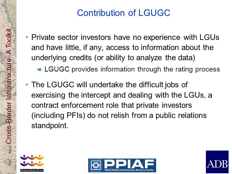 Contribution of LGUGC