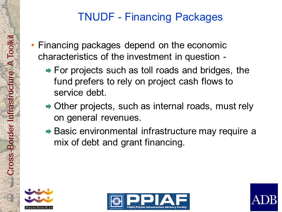 TNUDF - Financing Packages