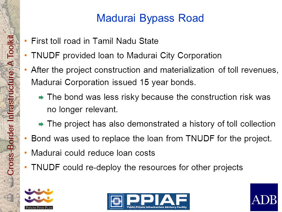 Madurai Bypass Road First toll road in Tamil Nadu State