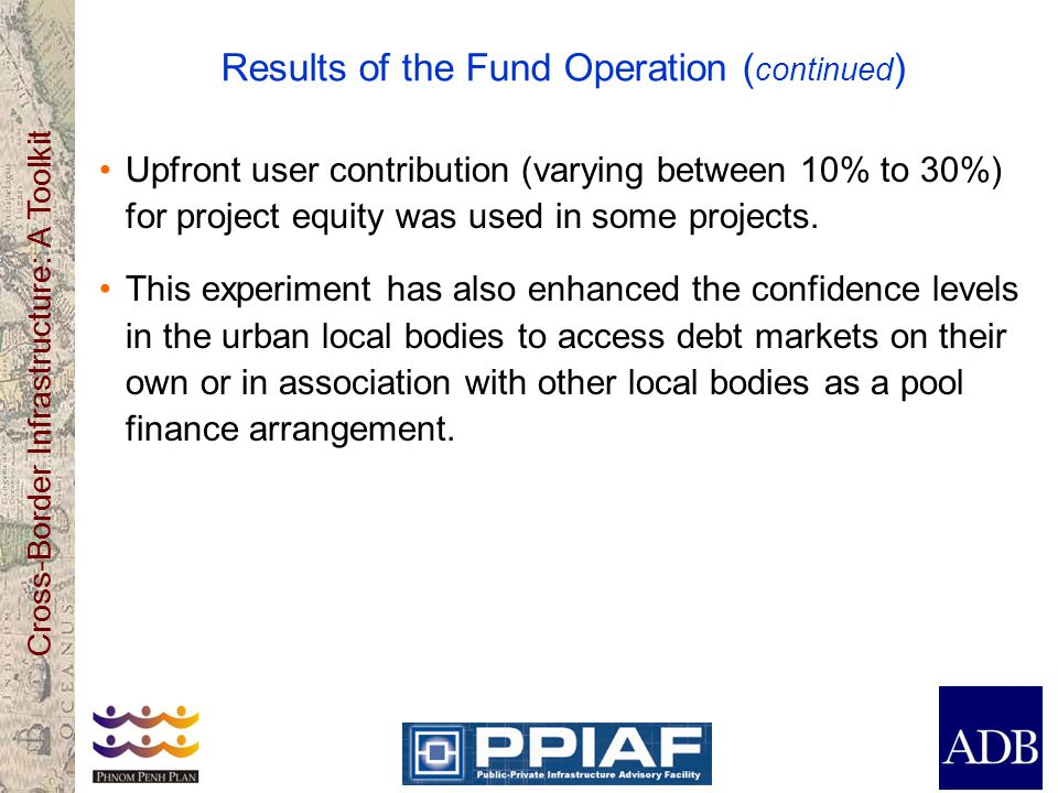 Results of the Fund Operation (continued)