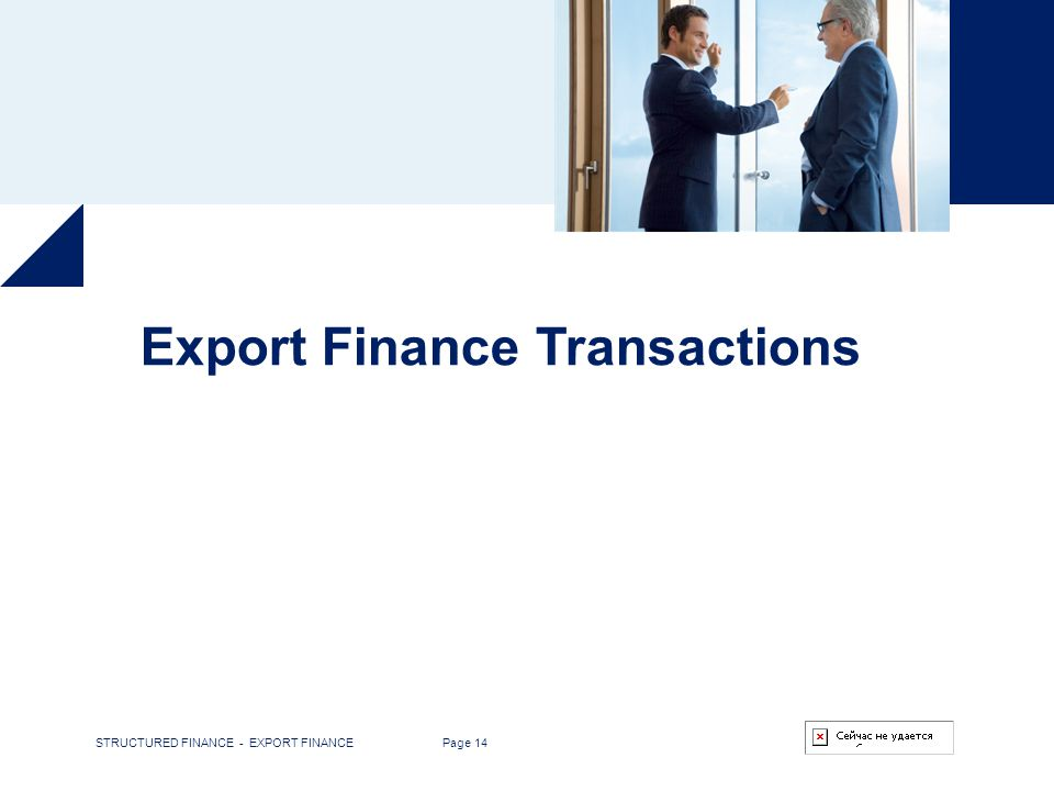 Export Finance Transactions