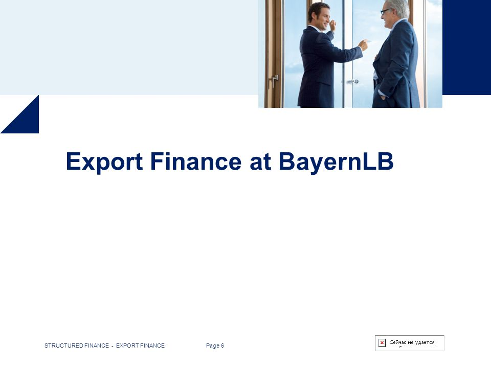 Export Finance at BayernLB