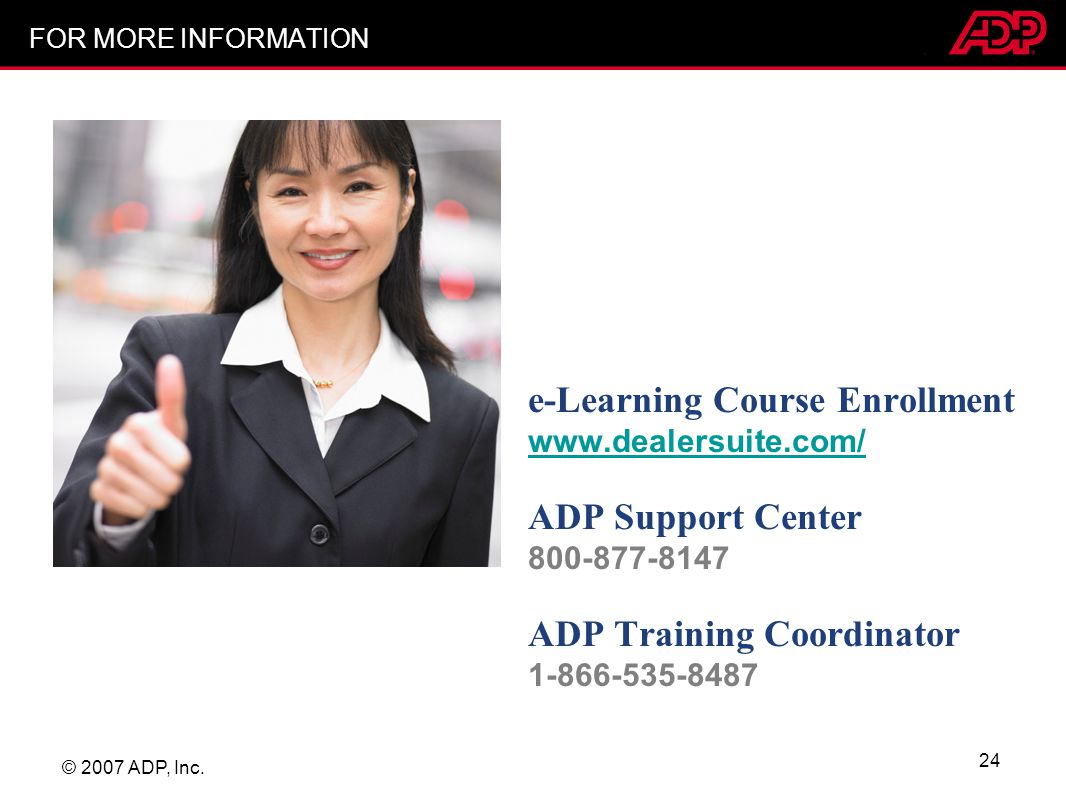 e-Learning Course Enrollment www.dealersuite.com/