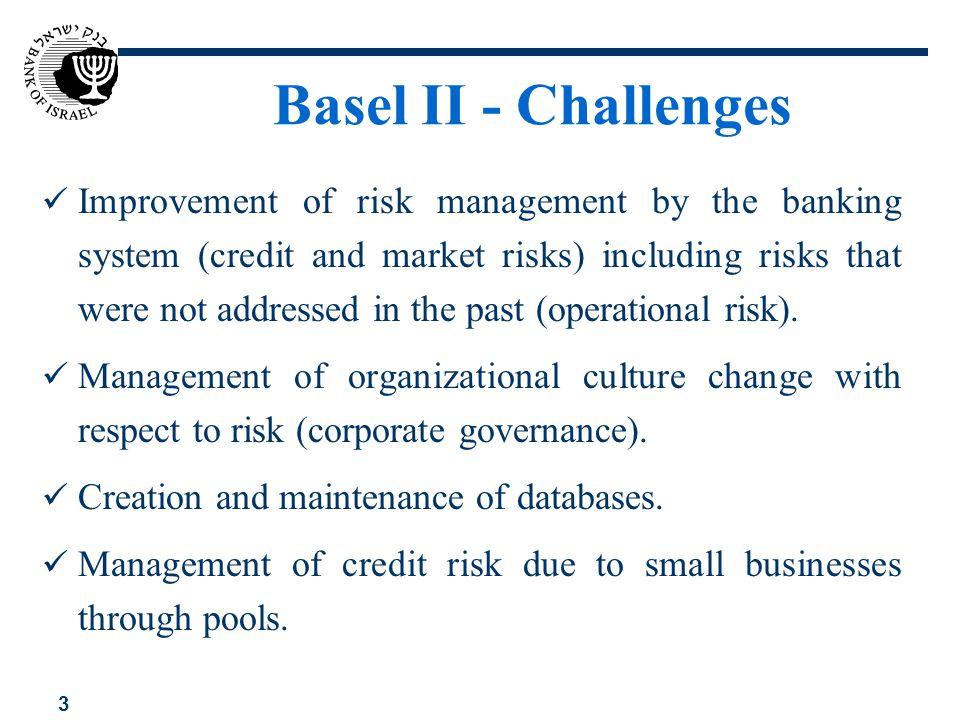Basel II - Challenges