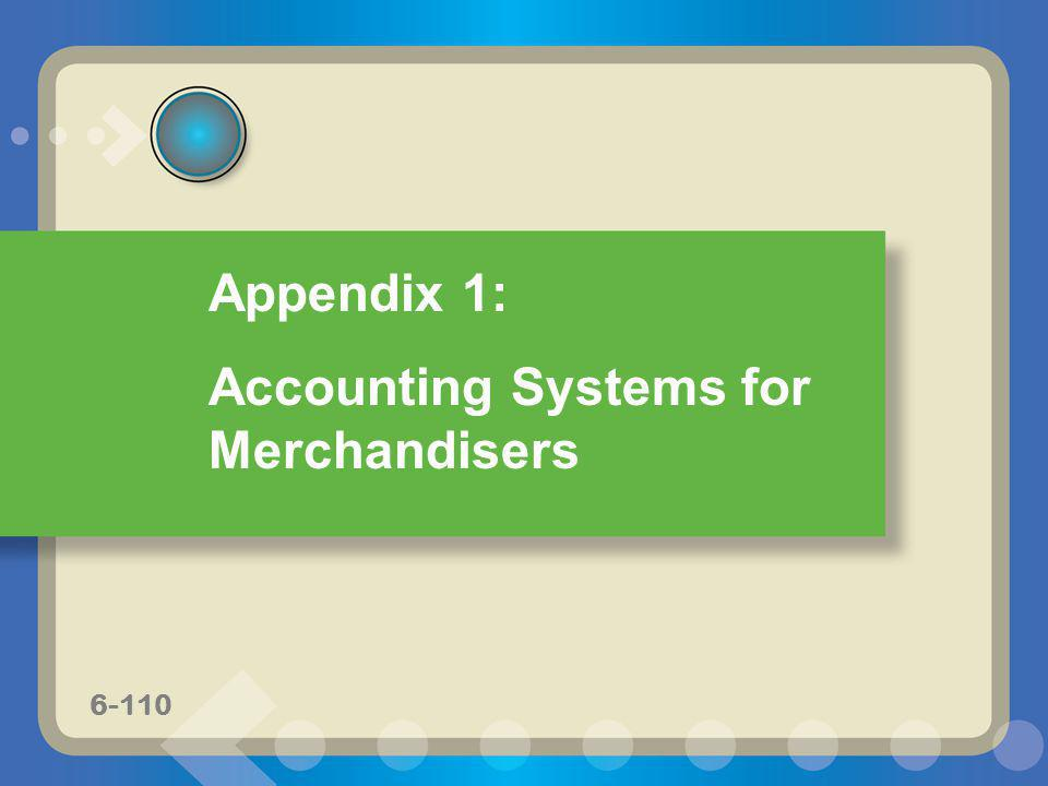 Accounting Systems for Merchandisers