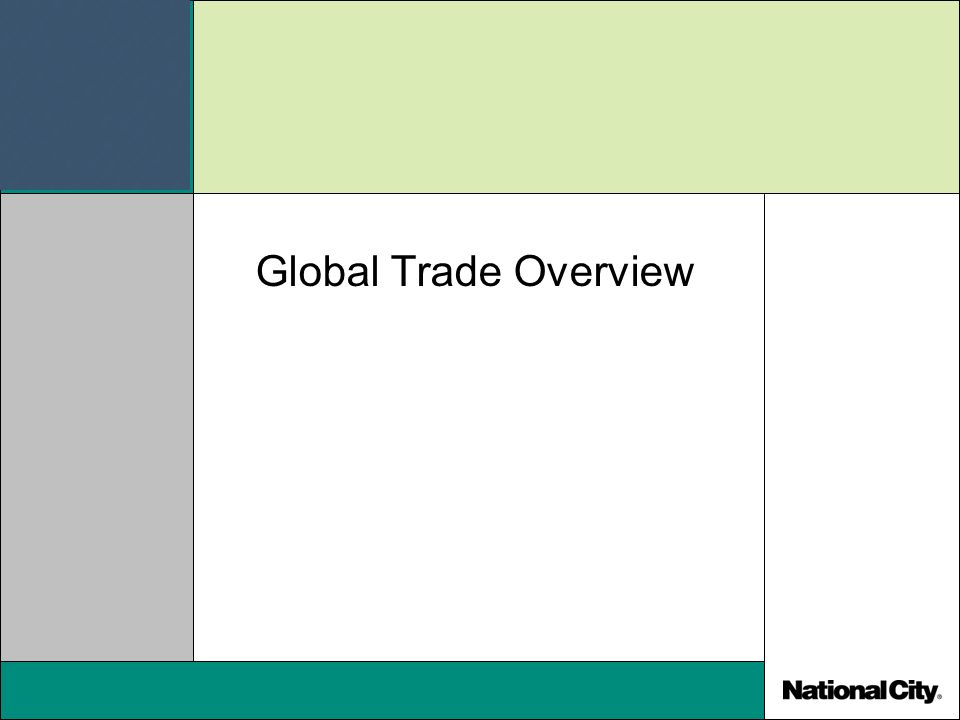 Global Trade Overview
