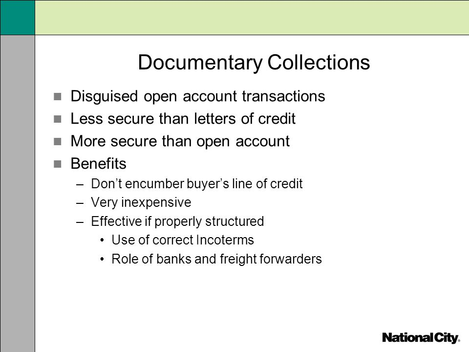 Documentary Collections