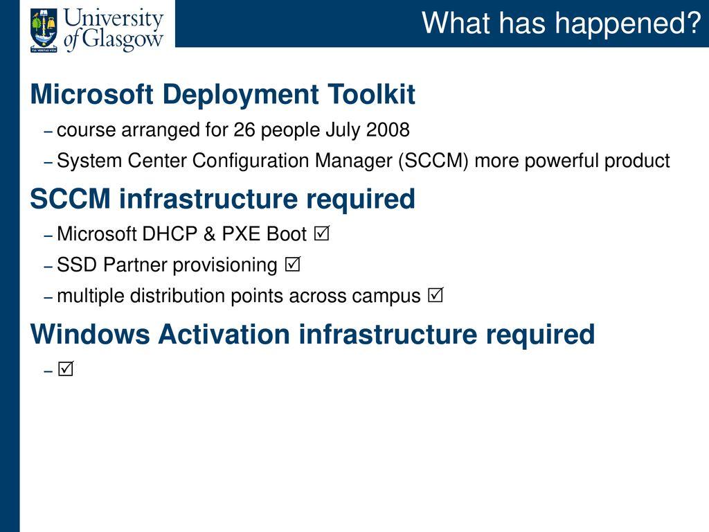 Microsoft Windows 7 & Standard Staff Desktop - ppt download