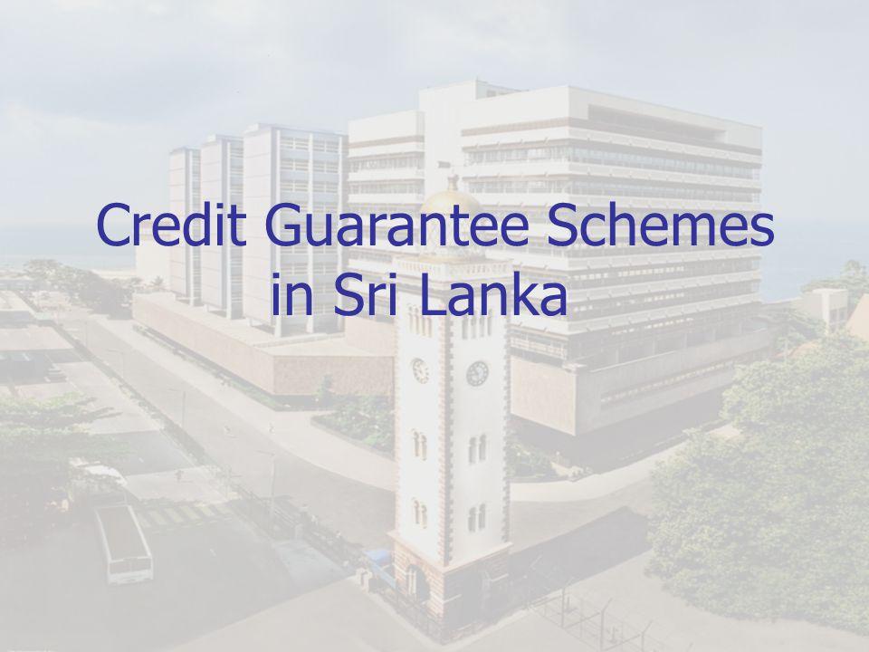 Credit Guarantee Schemes