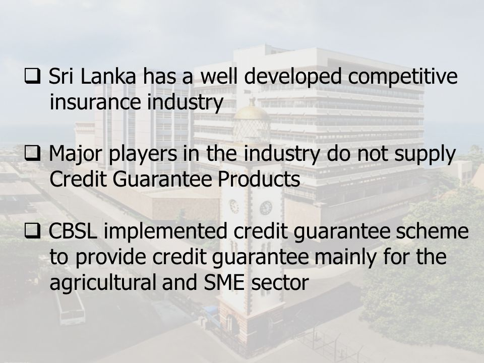 Sri Lanka has a well developed competitive