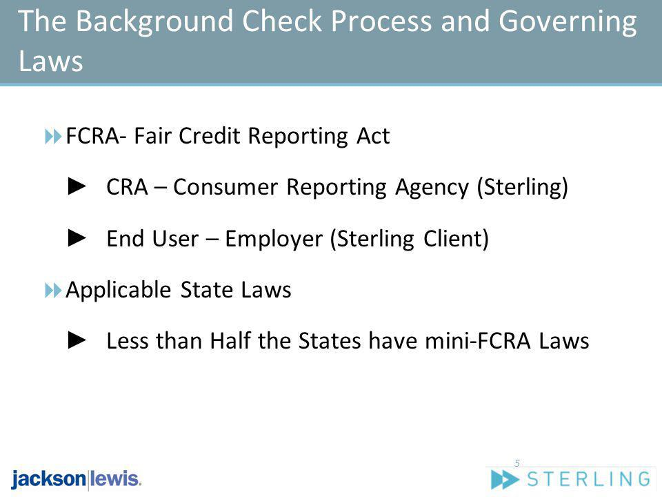 The Background Check Process and Governing Laws