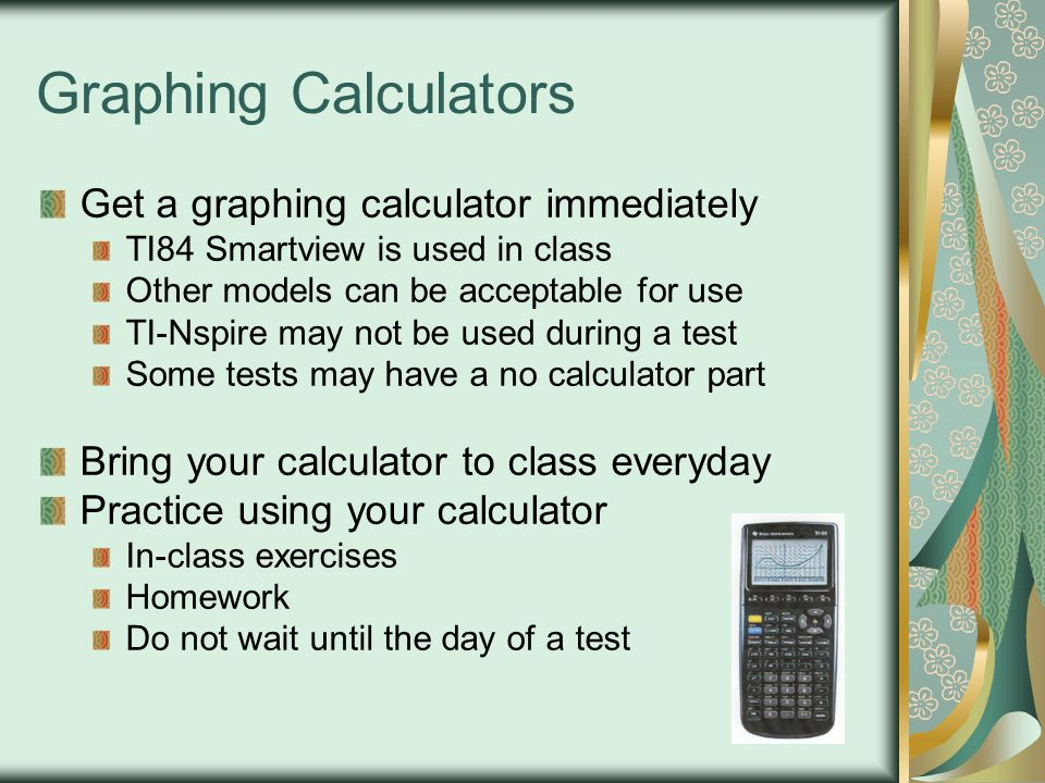 Graphing Calculators Get a graphing calculator immediately
