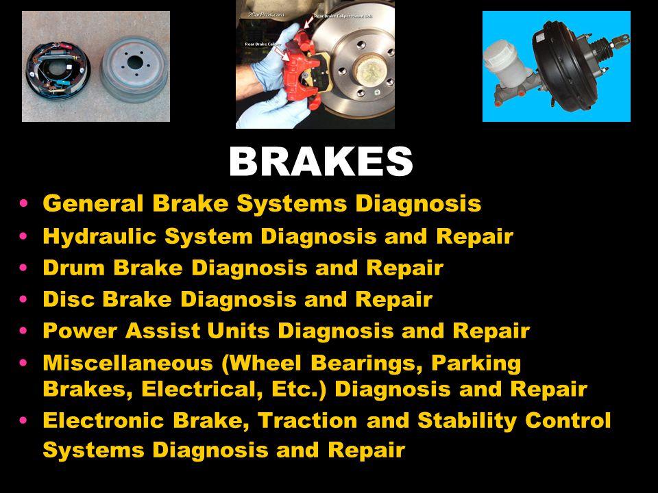 BRAKES General Brake Systems Diagnosis