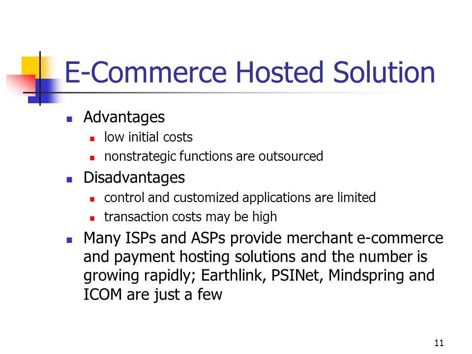 E-Commerce Hosted Solution