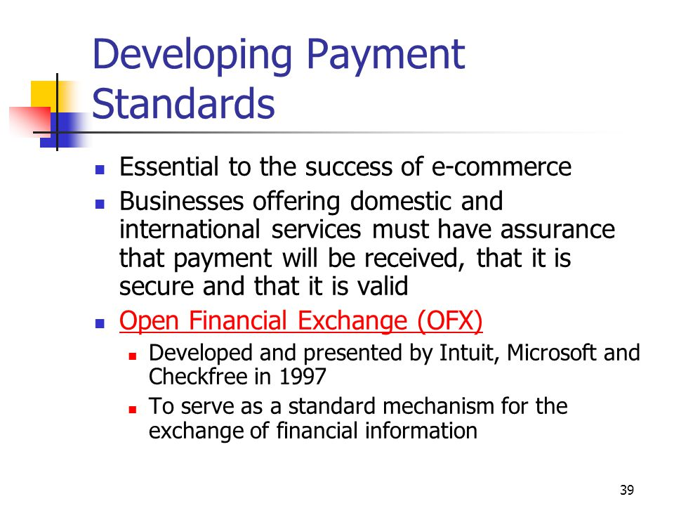 Developing Payment Standards