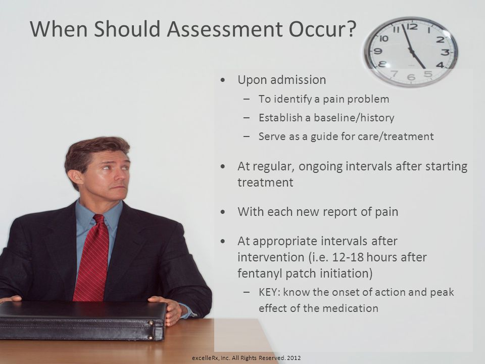 When Should Assessment Occur