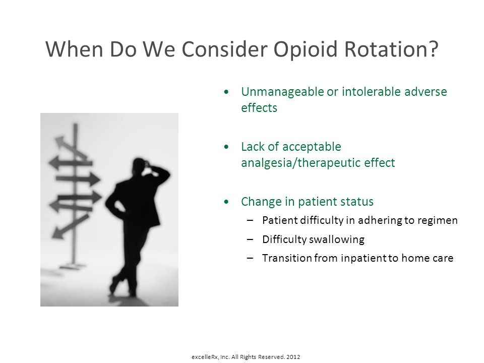 When Do We Consider Opioid Rotation