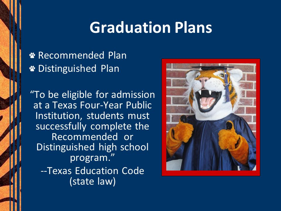 --Texas Education Code (state law)